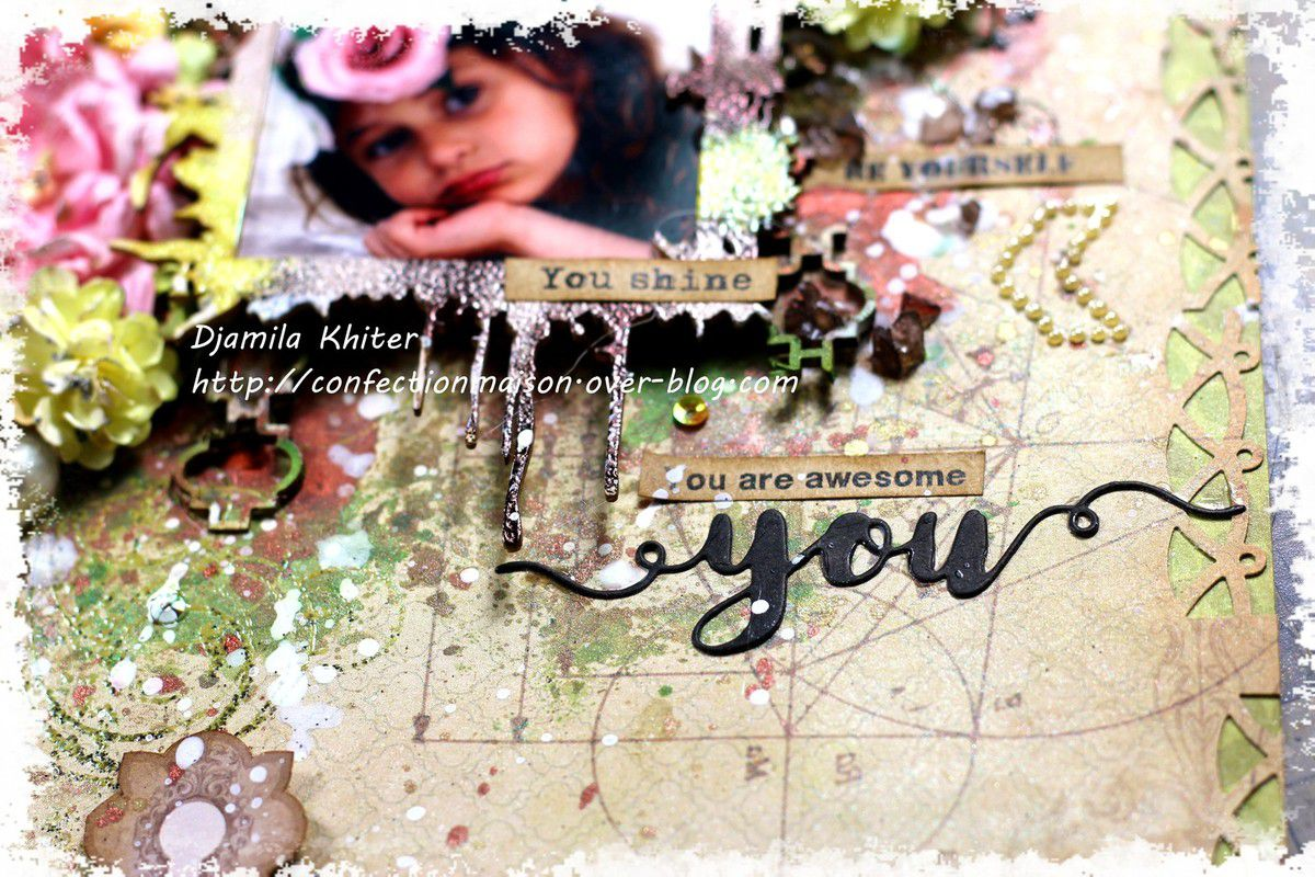 Page mixed media &quot&#x3B;You&quot&#x3B;+ vidéo