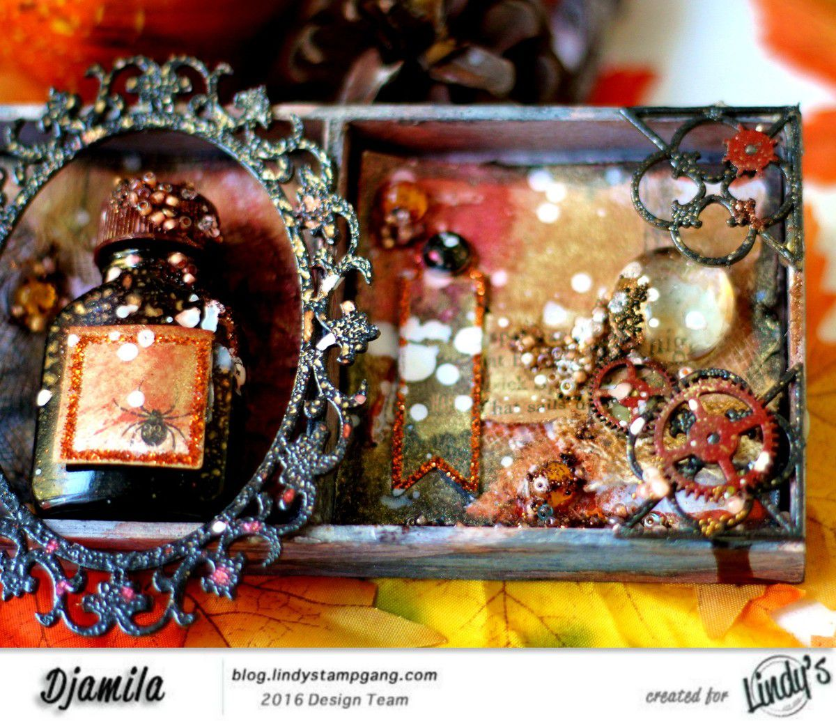 Mixed Media &quot&#x3B;Antique Boutique&quot&#x3B;+video Dt Lindy's Stamp Gang
