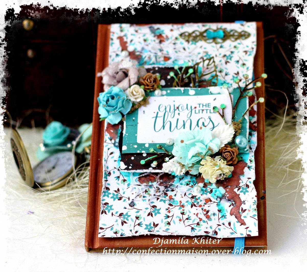 Agenda mixed media+video DT La Bulle à Scrap