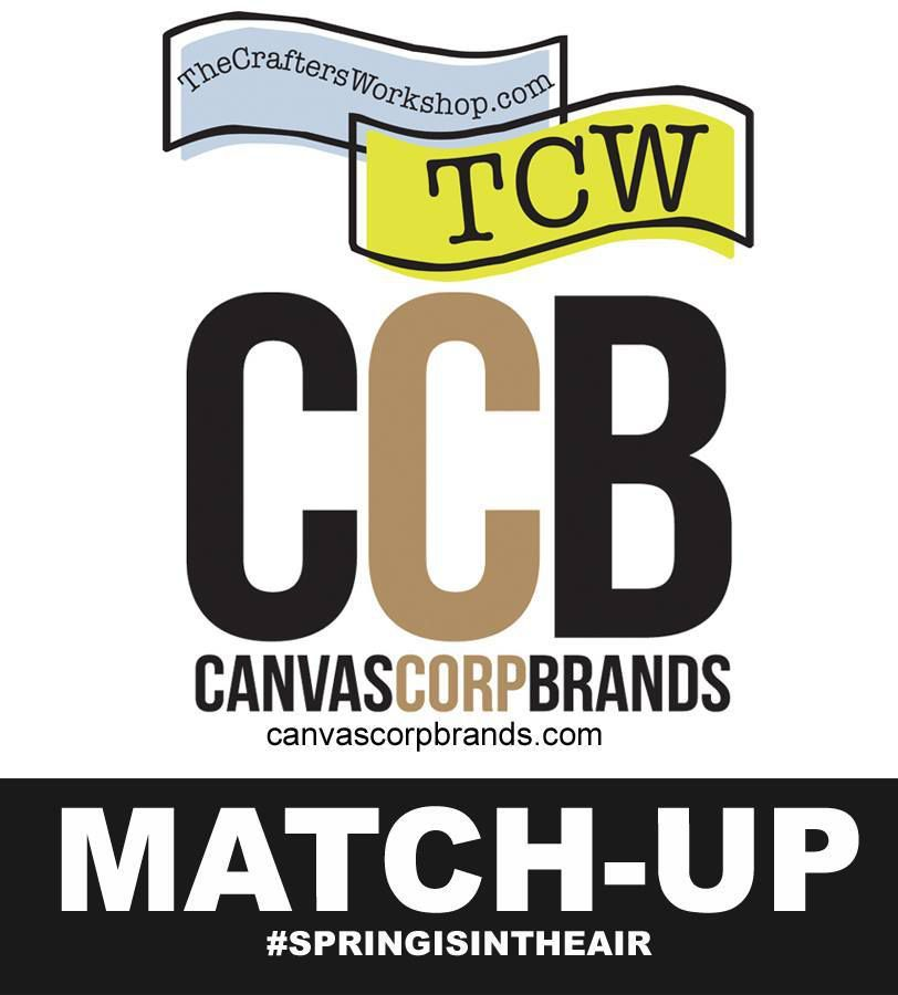 Canvas Corp Brands &amp&#x3B; The Crafter's Workshop Matchup! Catchdreamer +video