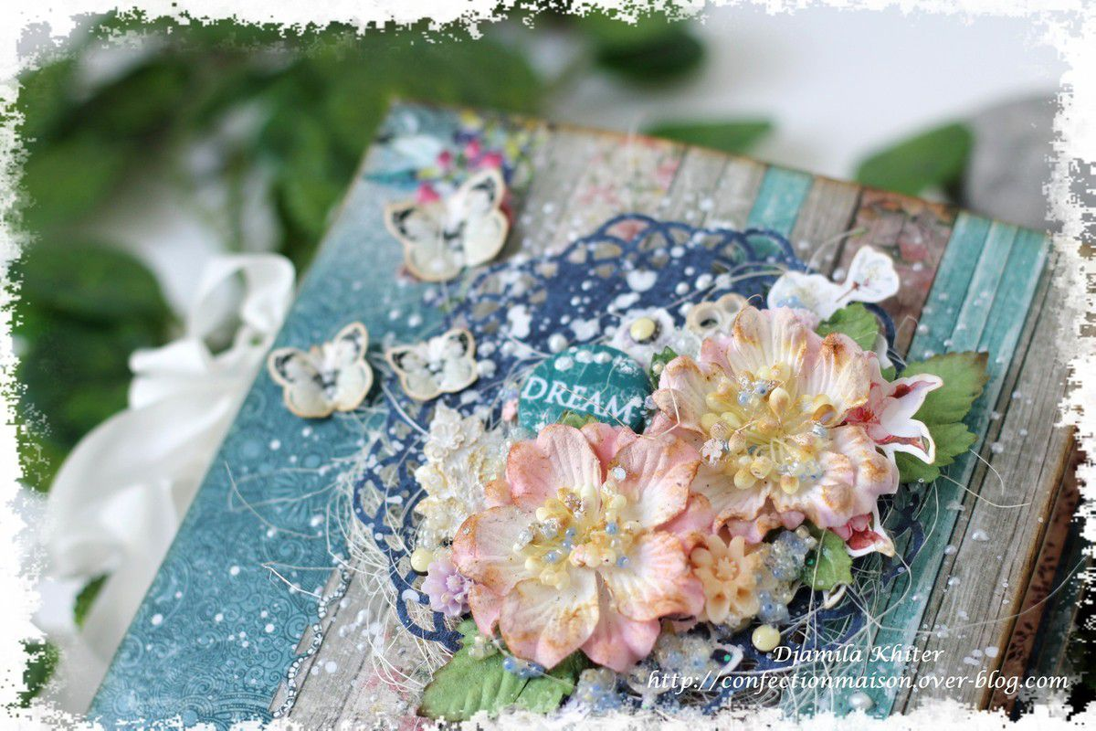 Mini album en Primavera et sa video DT Scrapberry's