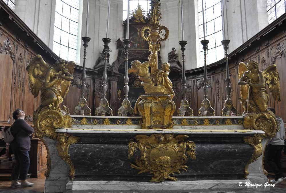 Maître autel.