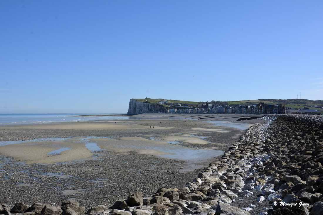 Mers-les-Bains vu de la plage