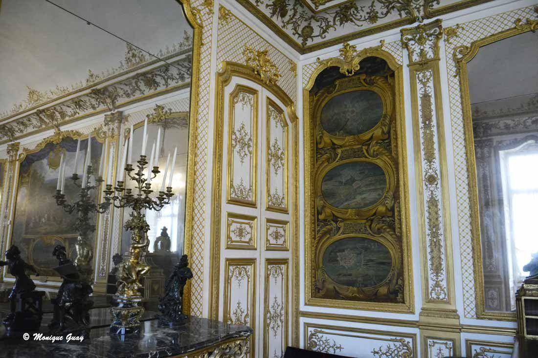 Chantilly: Grande singerie et Galerie des Actions