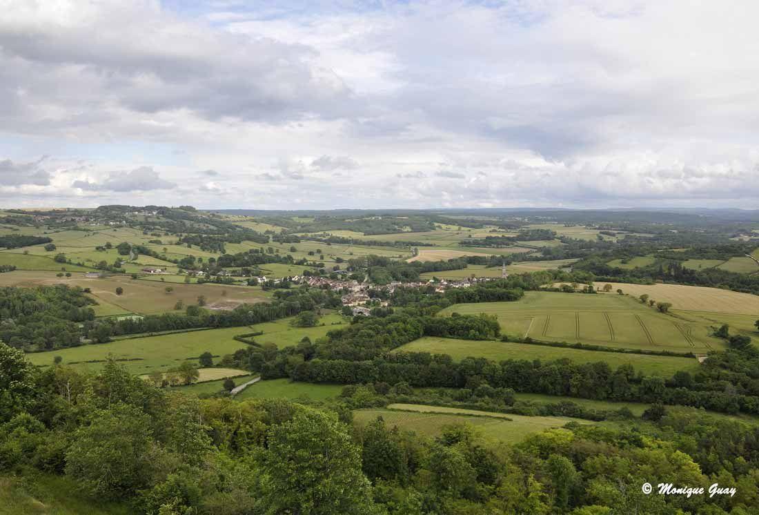 Autour de Vézelay: paysages bourguignons
