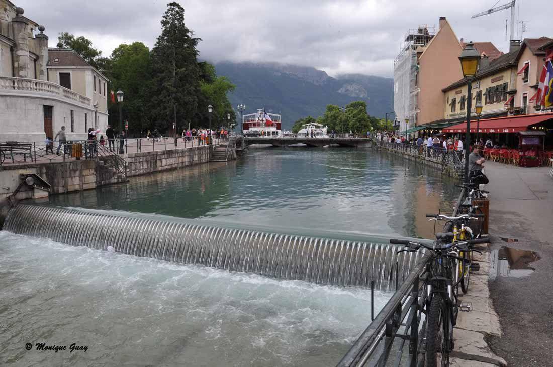 Balade dans la vieille ville d'Annecy