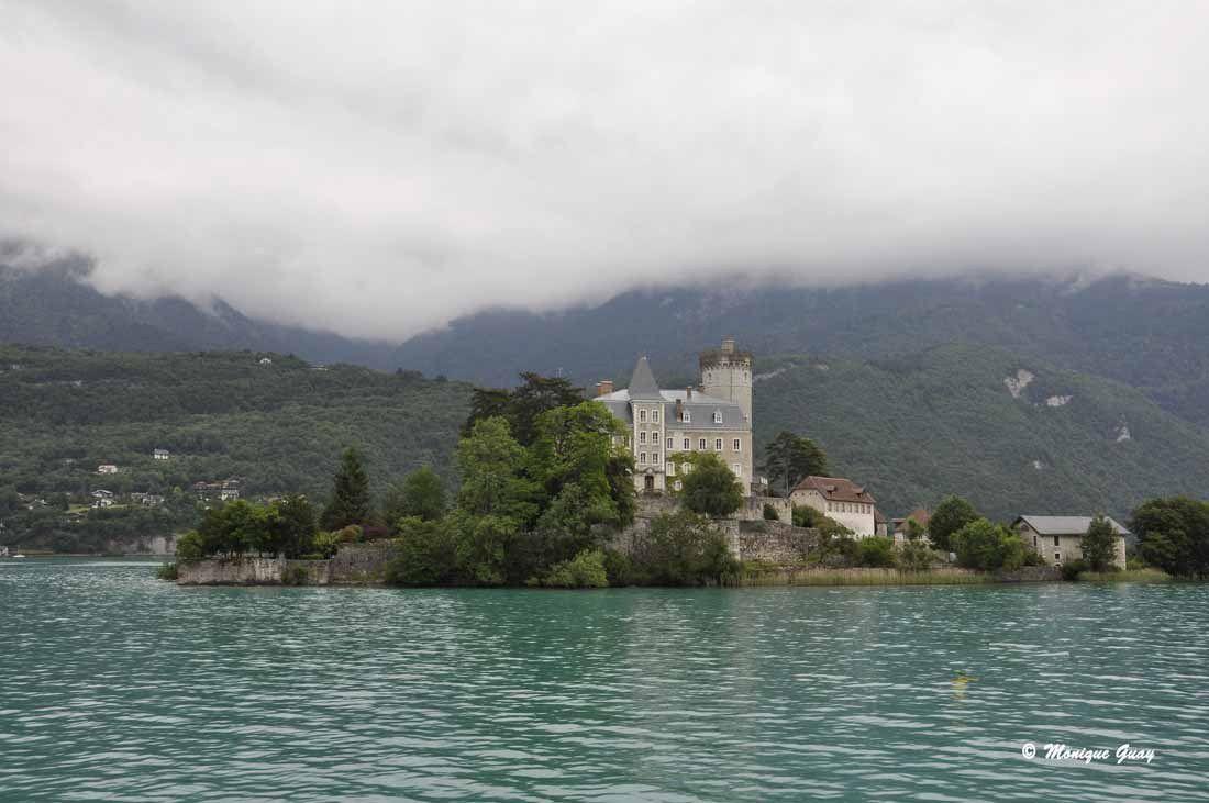 Château de Châteauvieux, de Ruingt, Ruphy sur le lac d'Annecy.