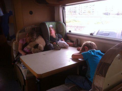 Un tour à 5 jusqu'en Asie en camping car, avec 3 enfants