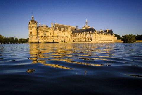 Oise - Château de Chantilly - Crédit photo : V.Colin