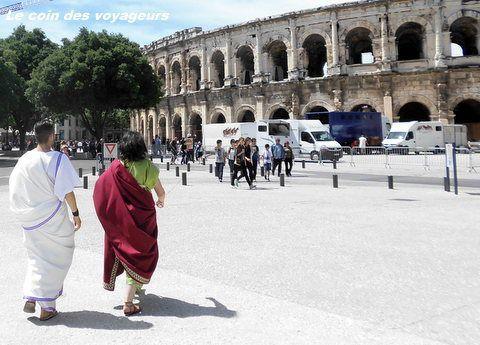 Des Grands Jeux Romains à Nîmes dans l'amphithéâtre le mieux conservé du monde