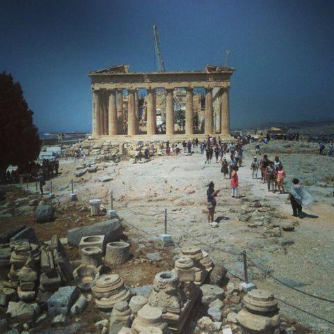 Retour à Ahènes - L'Acropole.