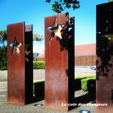 Schengen - Le monument qui symbolise les accords de