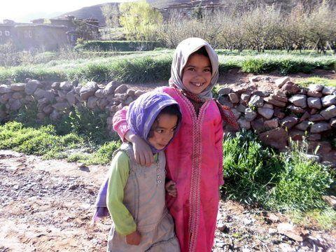 A la rencontre des enfants de la vallée heureuse dans le Haut Atlas marocain