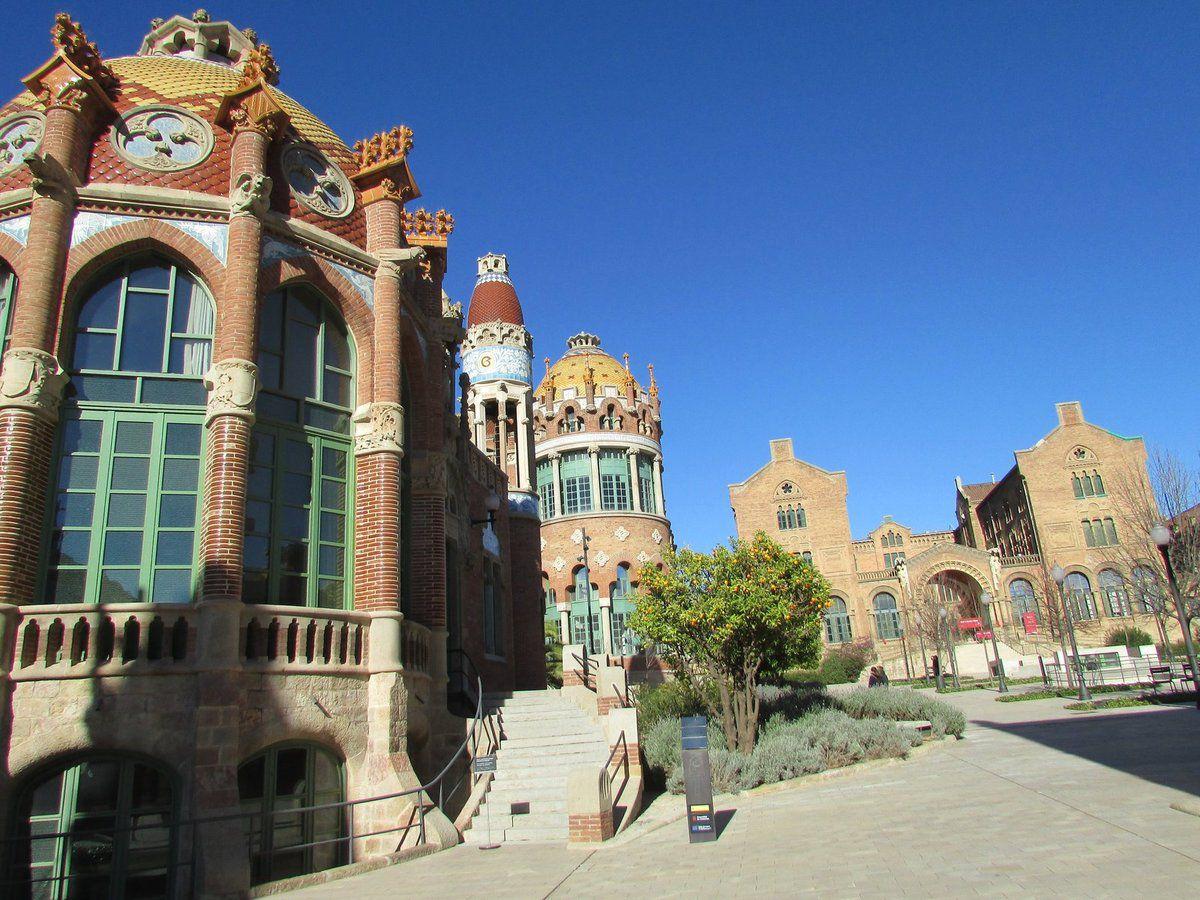 Allez visiter Sant Pau à Barcelone !