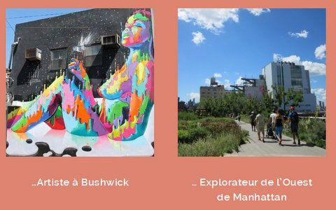Le Top 5 de New York selon Elise Goujon de la #start-up New York Off Road