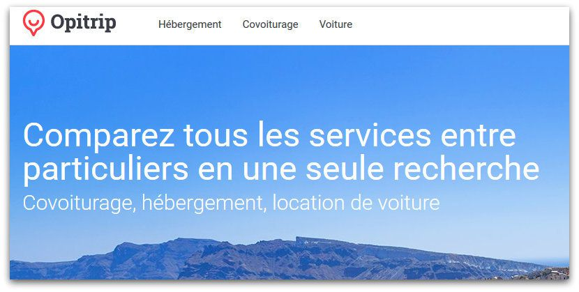 Start-up : Opitrip pour voyager en mode collaboratif