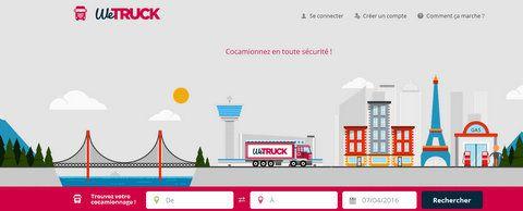 Start-up : WeTruck pour partager la cabine d'un camion