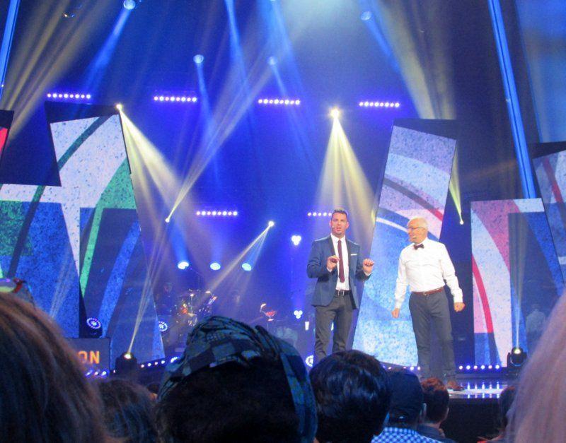Philippe Bond et Michel Barrette