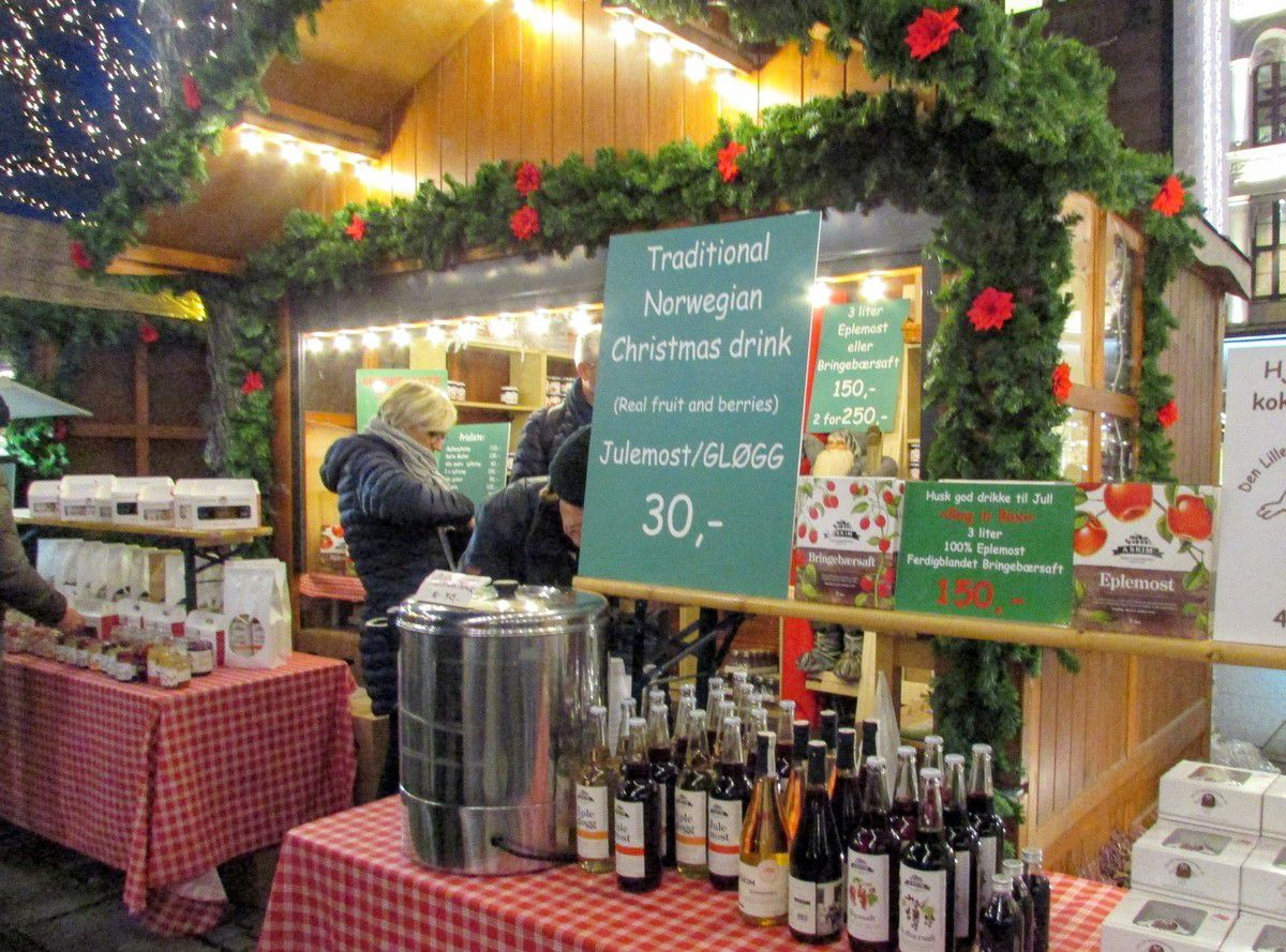 Le marché de Noël d'Oslo en 10 photos