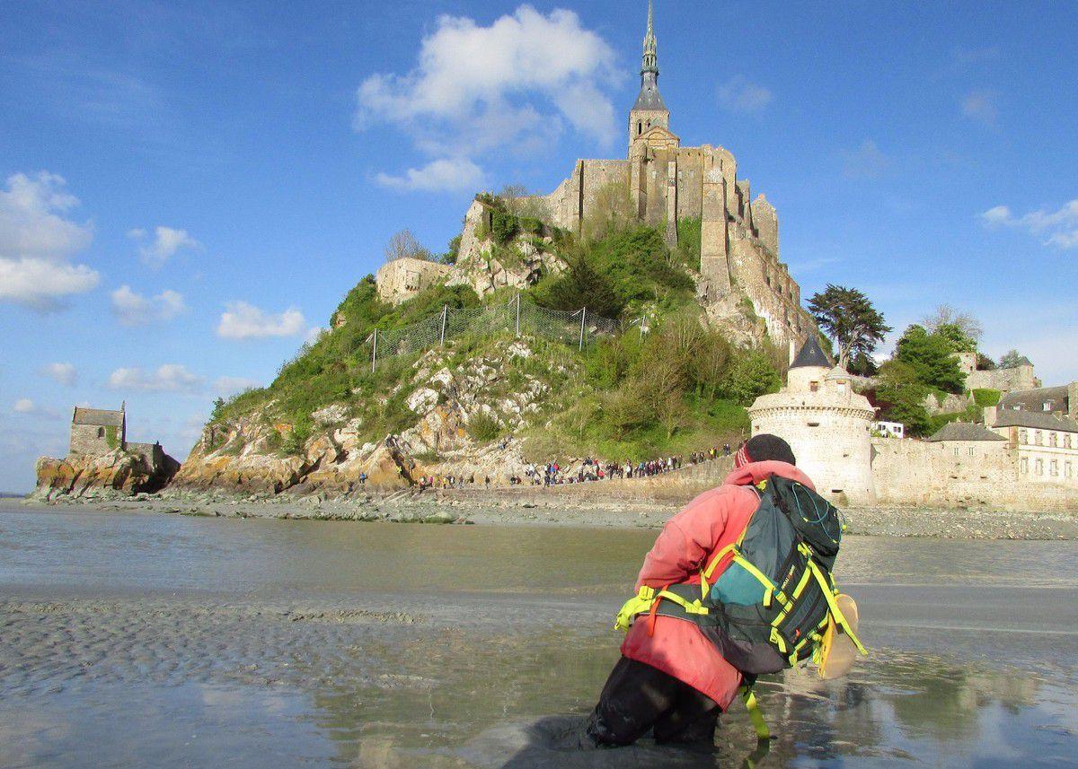 #EnFranceAussi : Au Mont Saint Michel pendant les grandes marées
