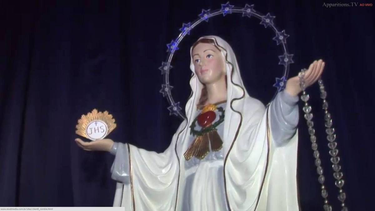 Même si vous êtes encore pécheurs  ne cessez jamais de prier le Rosaire,