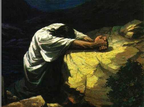 Agenouillez-vous en prière.