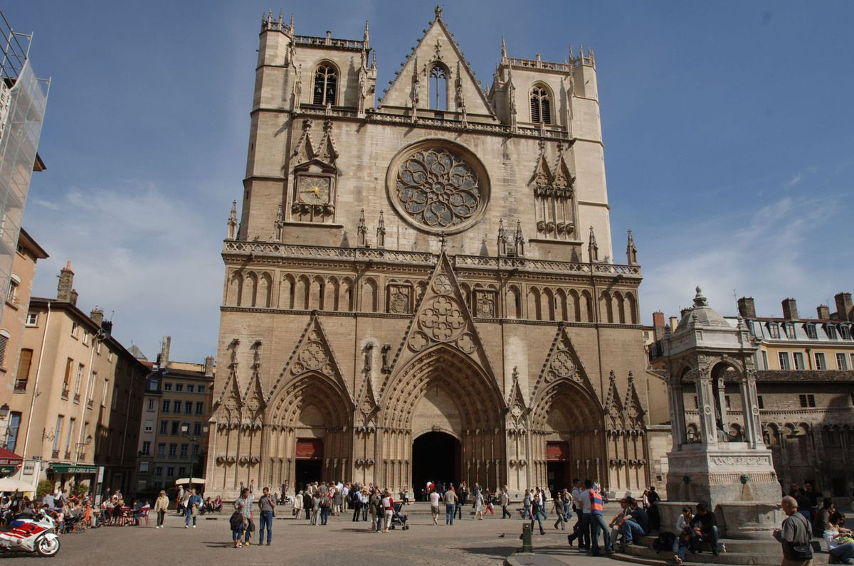 La Cathédrale Saint-Jean.