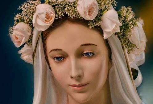 Oui, pour chaque grain  de ces couronnes,pour chaque Ave Maria,une épée de douleur  est enlevée  de mon Coeur.