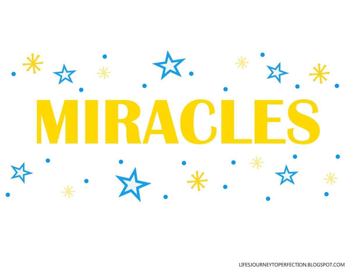 Période d'échange - AOUT 2015 - 4ème semaine - Les miracles sont accordés aux gens qui ont la foi