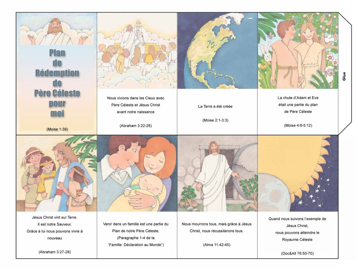 Primaire 4 - leçon 19 - la conversion du père du roi Lamoni