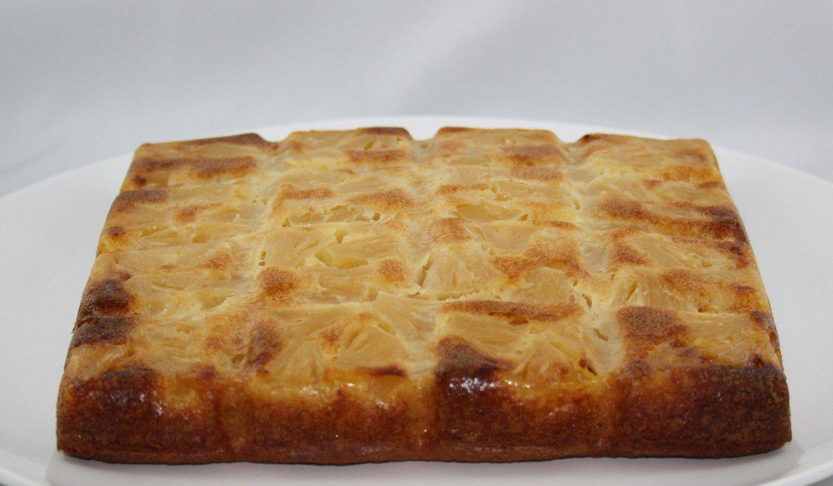 Gâteau fondant à l'ananas