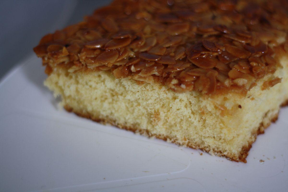 Toscakaka (Gâteau aux amandes caramélisées)