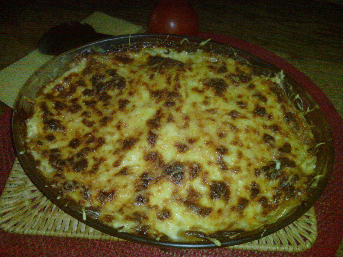 Lasagnes jambon, tomates et mozzarella