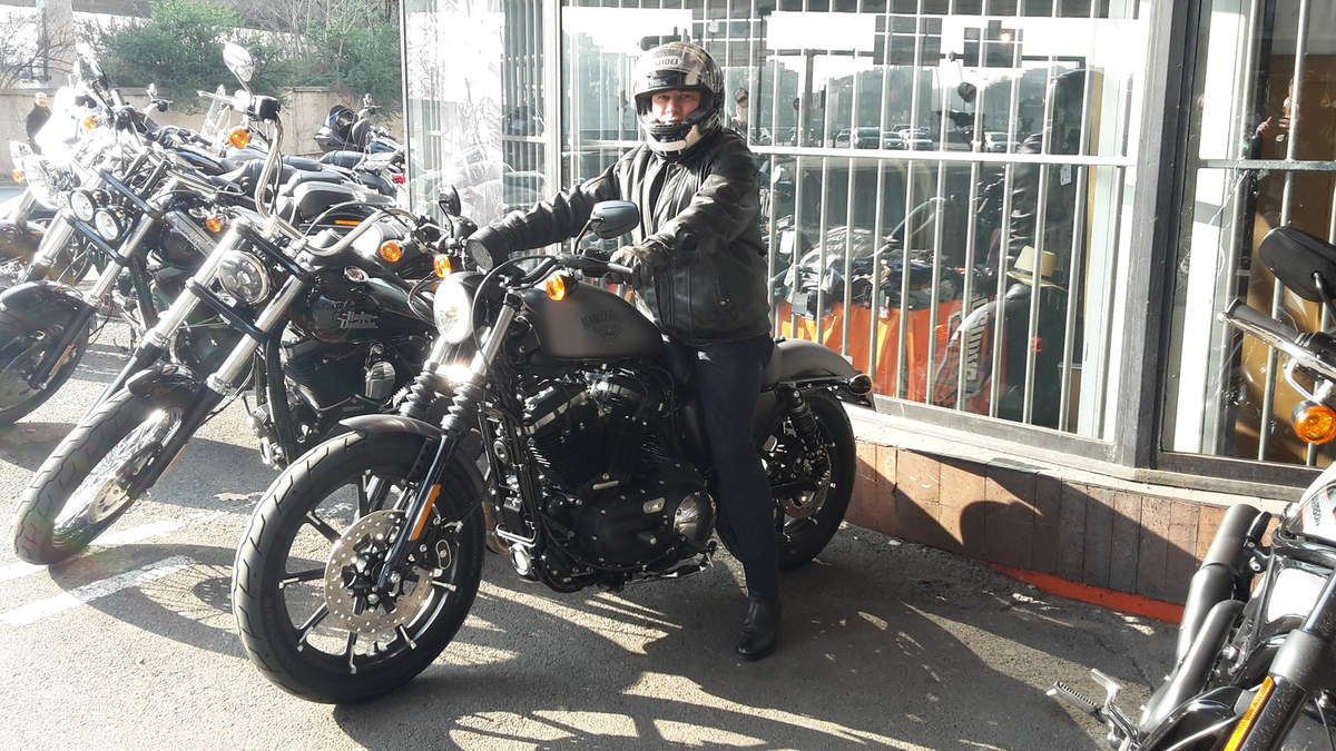 Quelques Harley-Davidson (883, Fat Bob, Night Rod, Rod King)