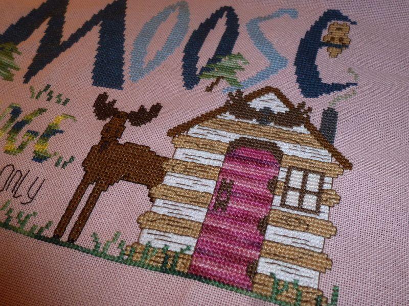 Moose lodge : terminé