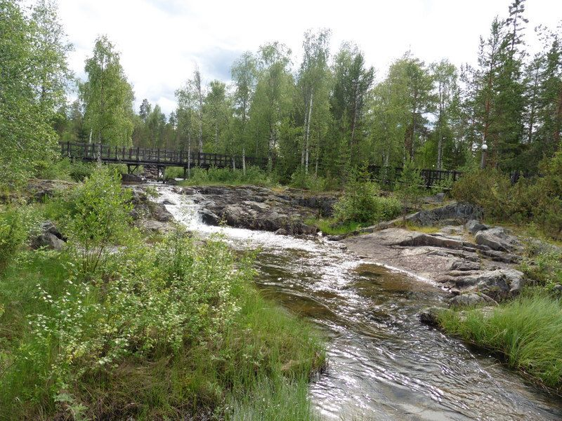 Ete 2015 : les chutes de Storforsen