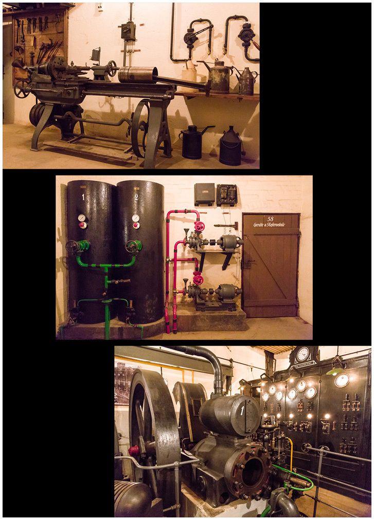 Atelier de maintenance et production d'électricité et cuisine.
