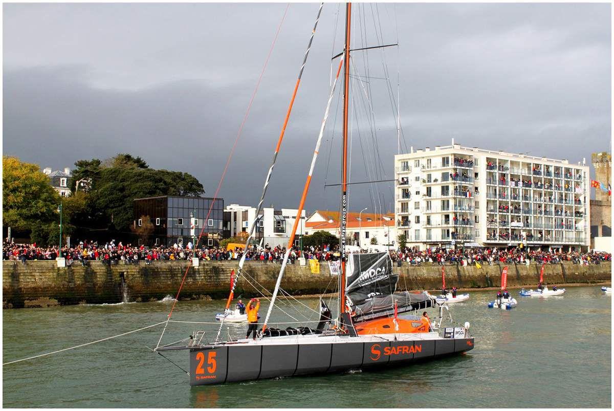Vendée Globe - Le départ