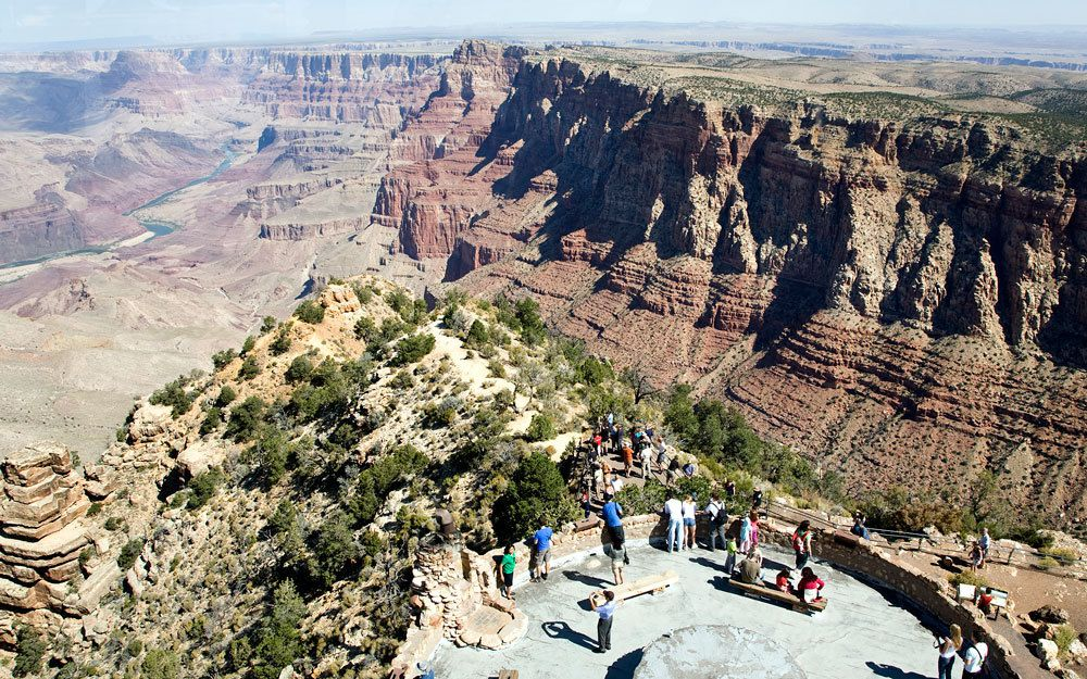Le Grand Canyon - Parc National de l'Ouest Américain