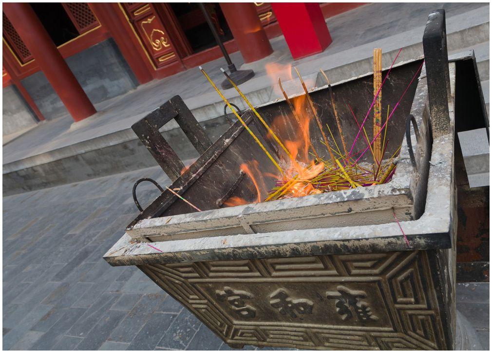 Le temple des Lamas - Pékin
