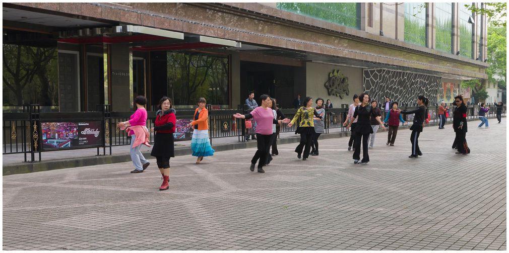 Shanghai - Le parc Fuxing