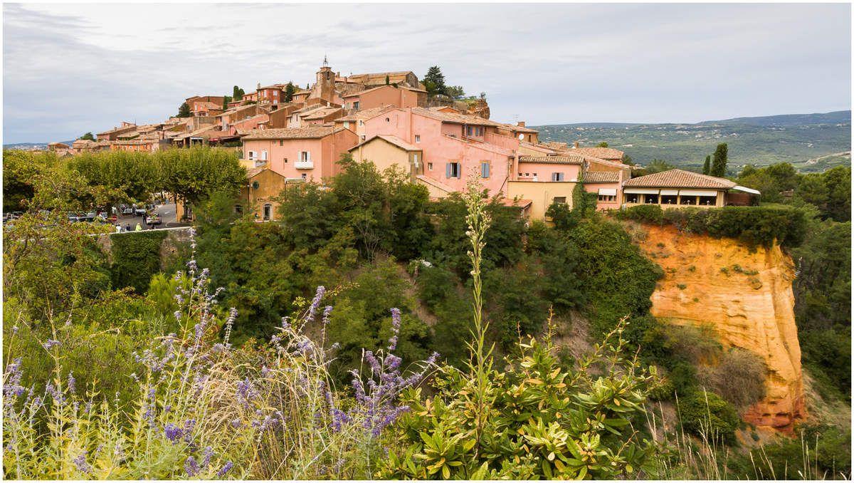 Les Ocres de Roussillon et Rustrel