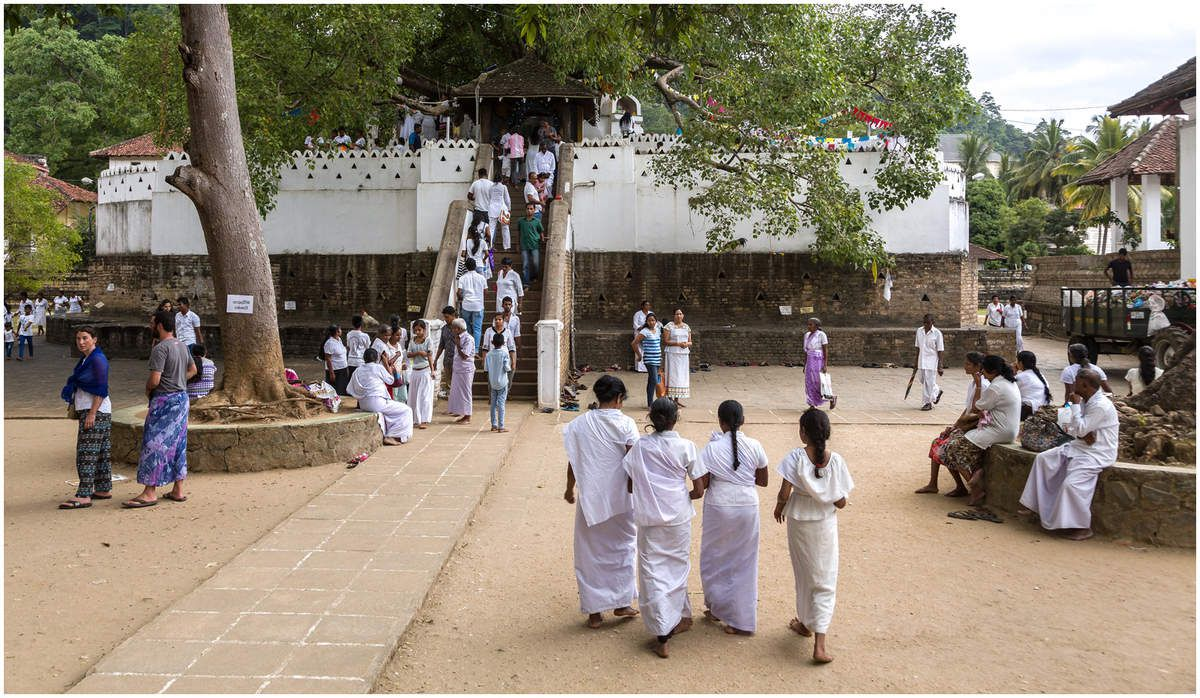 Sri Lanka - Le temple de la dent