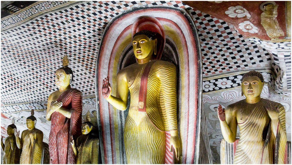 Sri Lanka - Le rocher  de Dambulla