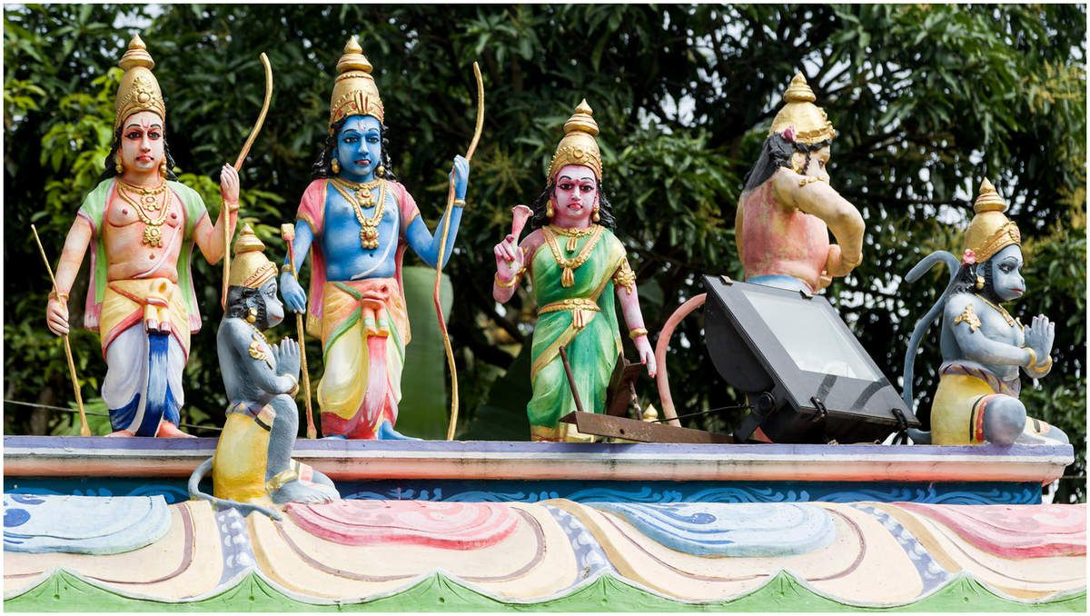 Sri Lanka - Le temple Hindou de Matalé