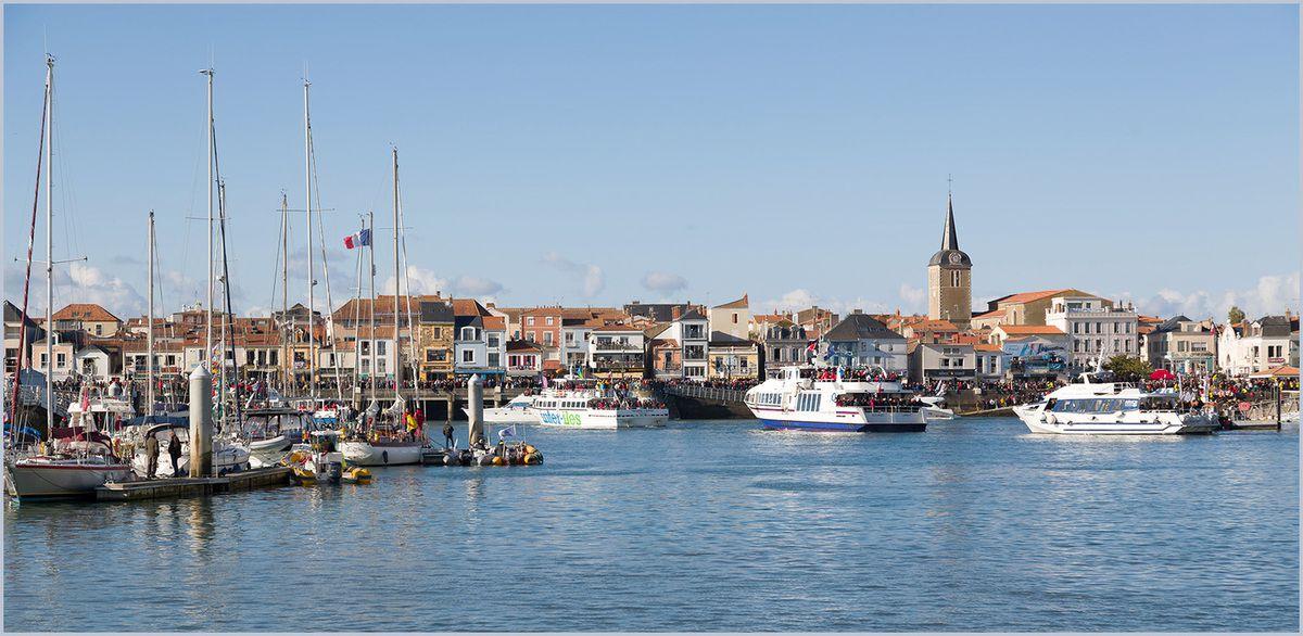 Le Vendée Globe 2016 - Le départ