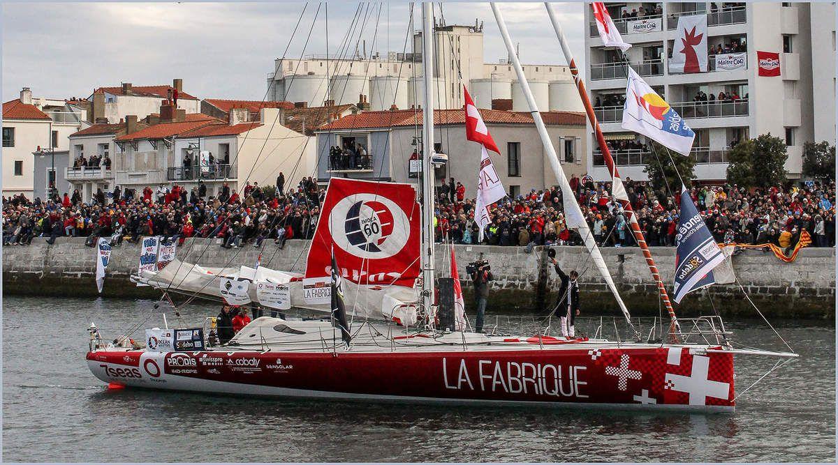 Le Vendée Globe 2016 - Le chenal