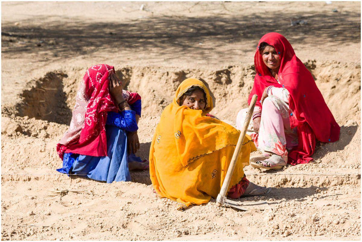 Scènes de vie au Rajasthan