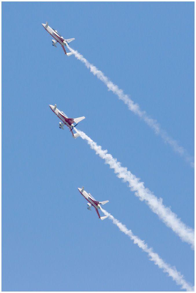Air show en Vendée