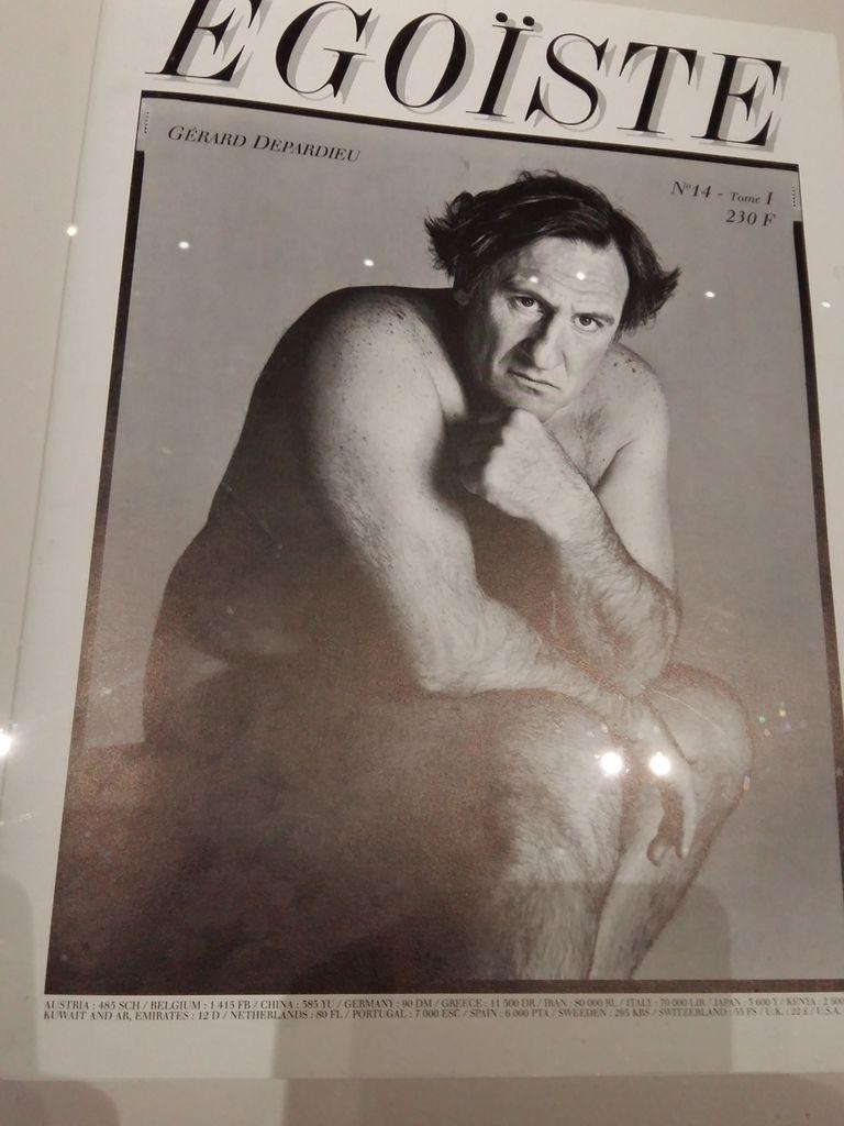 Avedon - Gérard Depardieu